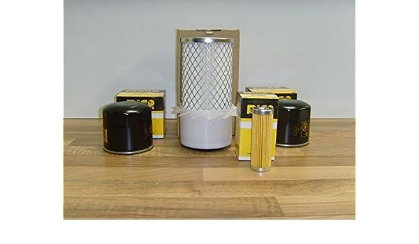 Fuel Filters Kubota KH5 Filter Service Kit w//Kubota D722-E Engine Oil Air