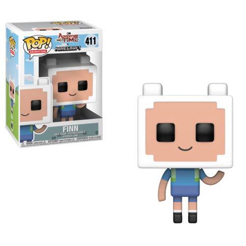 Funko–Adventure Time/Minecraft Idea Regalo, Statue, collezionabili, Comics, Manga, Serie TV,, 32235
