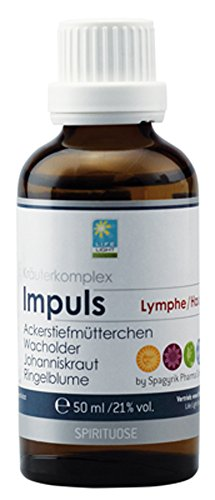 Life Light Impuls Lymphe + Haut Kräuterkomplex, 50ml