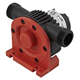 wolfcraft Bohrmaschinen Pumpe mit Kunststoffgehäuse 2207000; Selbstansaugende Wasserpumpe mit bis zu leistungsstarken 3000 l/h - ideal als Gartenpumpe oder zum Auspumpen verschiedener Wasserbetten