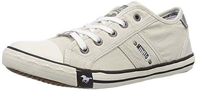 Mustang 1099-302-203, Damen Sneakers, Elfenbein (203 ice), 38 EU