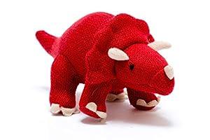 best years original by design Triceratops - Peluche de Dinosaurio, Color Rojo Rosso Talla:pequeño