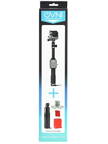 Pack accessori waterproof per GoPro/Asta Inserto telecomando/Impugnatura Grip Bobber/Patch anti-nebbia/galleggiante Attache 3M–OVNI a
