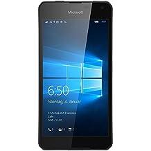 "Microsoft Lumia 650 - Smartphone libre Windows (4G, pantalla 5"", Quad-core, 16 GB, 1 GB RAM, cámara 8 Mp), color negro"