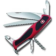 Victorinox Taschenmesser Ranger Grip 55 (12 Funktionen, Feststellklinge, Säge)