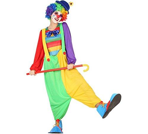 Atosa-54223 Atosa-54223-Costume-Déguisement Clown M-L-Adulte, Femme, 54223, Multicolore, M-L