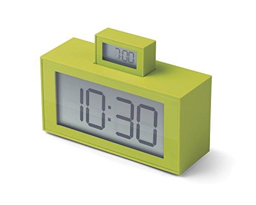 LEXON lr139u7InOut Despertador abs Verde 11