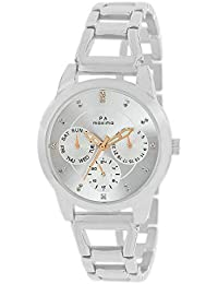 Maxima Analog Silver Dial Women's Watch-O-52911BMLI