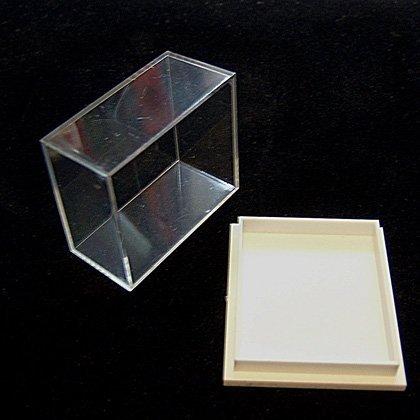 Minerales, fósiles y caja de coleccionista de cristal–, 30uni