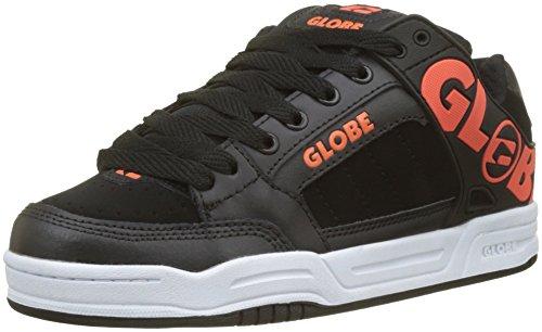 Globe Herren Tilt Fitnessschuhe, Mehrfarbig (Black/Spicy Orange 000), 39 EU