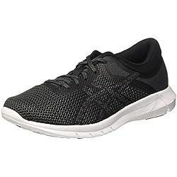 Asics Nitrofuze 2, Zapatillas de Running para Hombre, Negro (Black/Carbon/White), 42 EU