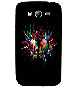 SAMSUNG GALAXY GRAND I LOVE U FOREVER Back Cover by PRINTSWAG