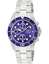 Invicta Pro Diver Men's Chronograph Quartz Watch with Stainless Steel Bracelet – 1769