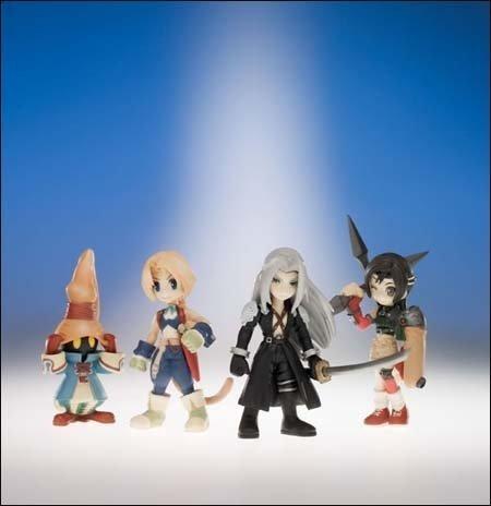 Figurines Final Fantasy - Square-Enix - Final Fantasy Trading Arts Vol.