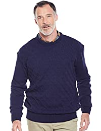 6cf018c94127c ... Knitwear   Jumpers   Chums. Mens Cable Crew Neck Jumper Sweater