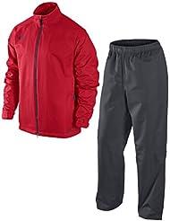 Nike Golf Herren Storm-fit packable Regen Anzug, Sport rot, X-Large