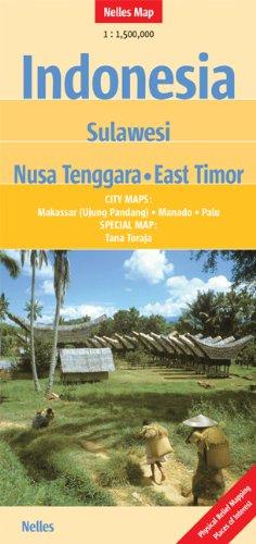 Indonesia - Sulawesi : 1/1 500 000