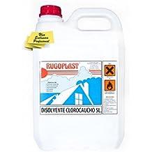 Disolvente clorocauchos diluyente para barnices y pinturas a base de resinas de clorocaucho (pintura piscinas al clorocaucho) (5L) Envío GRATIS 24 h.