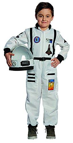 Astronaut Kinder Kostüm Junge Raumfahrer Kosmonaut (Kosmonauten Helm Kostüm)