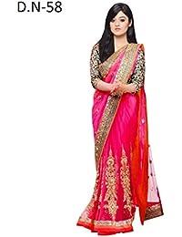 Raavi Sarees Chiffon Saree (D.N-58_Multi-Coloured)