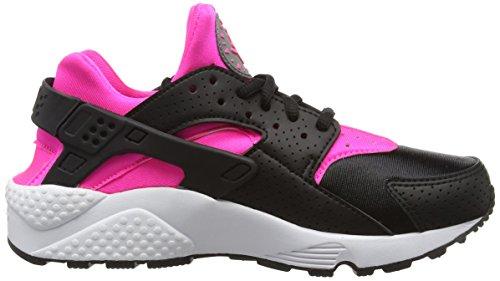 Nike Wmns Air Huarache Run, Scarpe da Corsa Donna Multicolore (Black/Pink Blast/White)