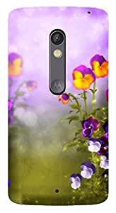 TrilMil Printed Designer Mobile Case Back Cover For Motorola Moto X Play