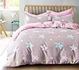 Janak Handloom Engage Polyester Blend Double AC Comforter, Queen Size Bedsheet and 2