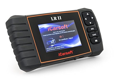 iCarsoft LR II Automotive Diagnostic Tool (Land Rover-scanner)