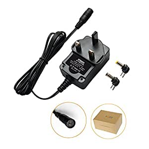 ZOZO Universal Travel Wall Charger Adapter 100~240V 12W 12V 1A 1000mA Regulated Replacement Power Supply 5.5 x 2.5 & 5.5 x 2.1 mm Tip Size for LED Stip String Lights Household Electronic Devices Routers Radio Speakers LCD CCTV Cameras and more …