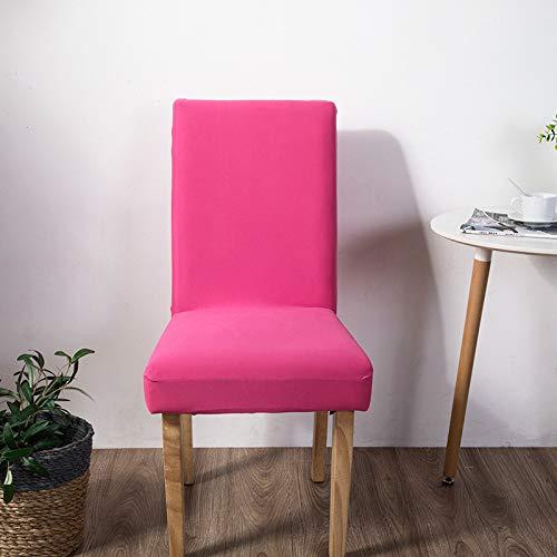 Happymxwx elasticità domestica semplice 40 * 50 rosa rossa,coprisedie con schienale elasticizzato stampa floreale vestisedia moderno universale fodera per sedie copertura della sedia sala da pranzo