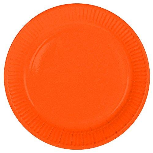 yteller Freie Farbwahl - 8 Stück + 1 Gratis Luftballon Ø 30 cm (Orange) ()