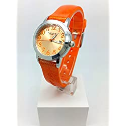 Watch Vagary Girl 86th VE0-515-92 Orange Glitter