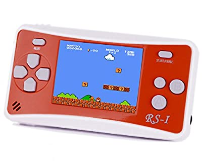 """QINGSHE Arcade Classic Handheld Games Consoles for Kids,Portable 2.5"""" LCD 8-Bit 152 in 1 Retro Arcade Game System,Tiny Electronics Toys for Children Entertainment at Home or Travel"""