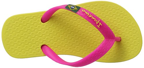 Ipanema Classica Brasil Ii Kids, Tongs Mixte Enfant Mehrfarbig (Yellow/pink)