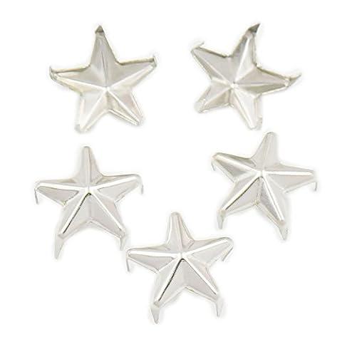 500 pcs 12mm 1/2 Star Studs 5