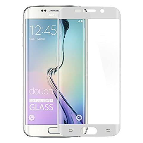 doupi 3D FullCover Glasfolie für Samsung Galaxy S6 Edge Plus