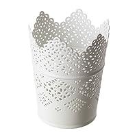 Ikea Skurar Skurar Candle Holder, White X3