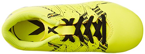 adidas X15.4 Fg, Chaussures de Football Compétition garçon Gelb (Solar Yellow/Core Black/Frozen Yellow F15)