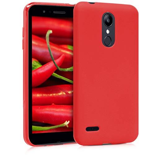kwmobile LG K8 (2018) / K9 Hülle - Handyhülle für LG K8 (2018) / K9 - Handy Case in Rot matt