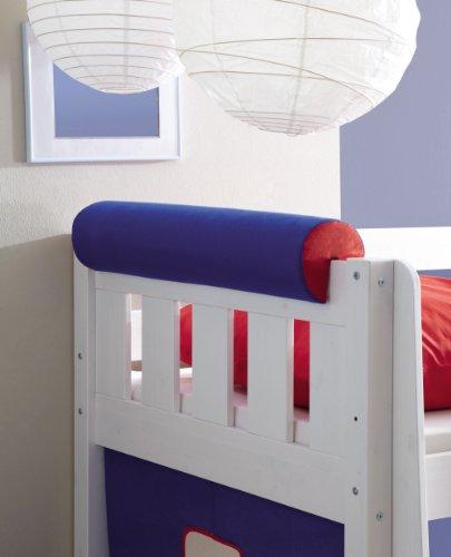 TICAA Kinder Nackenrolle für Hochbetten Etagenbetten Kinderbetten mit Farbauswahl