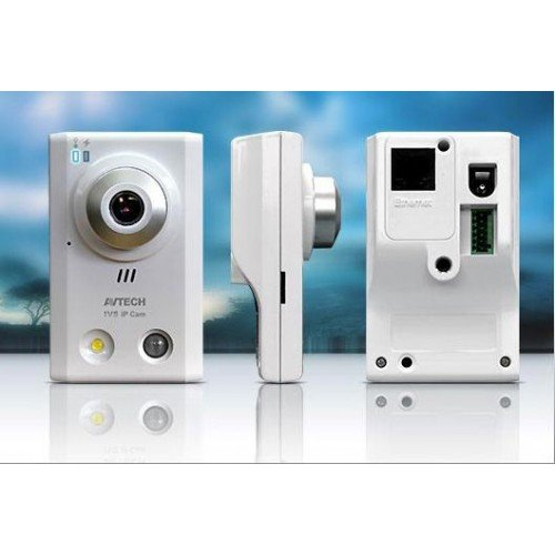 Camera IP HD 720p - Push Video - AVTech avn80 x - LED - Audio - Alarm EXT (AVN80X) Mjpeg-video