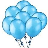 NUOLUX Blau Luftballons,Latexballons 12 Zoll für Hochzeit Geburtstag,100pcs(Navy Blue)