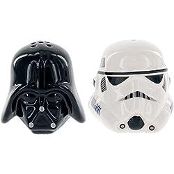 Star Wars Rogue One SW00696 Poivrier/Salière Céramique Noir