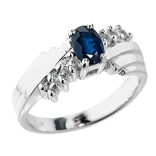 little-treasures-10k-dazzling-white-gold-diamond-and-blue-sapphire-proposal-ring