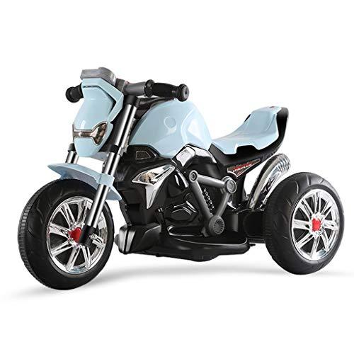 Veicoli a spinta e ruote Motociclo Elettrico Per Bambini Triciclo Per Bambini Giocattolo Per Bambini Automobile Musica Ricaricabile Moto Elettrica Regalo Per Bambini Istruzione Precoce Funzione Istruz