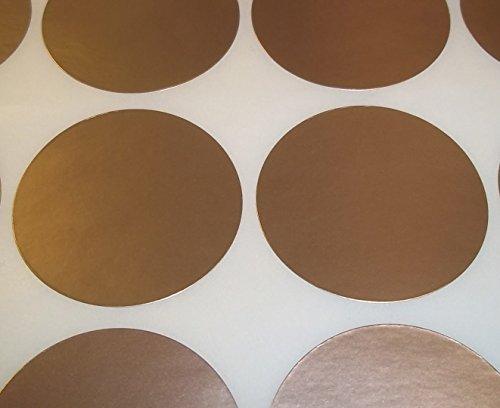 Paquete de 500 Ltd, Audioprint por código de color puntos en blanco precio pegatinas etiquetas adhesivas, dorado, 45 mm