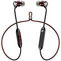 Sennheiser Momentum Free Special Edition, Wireless Bluetooth Headphones, Black and Red - Exclusive to Amazon