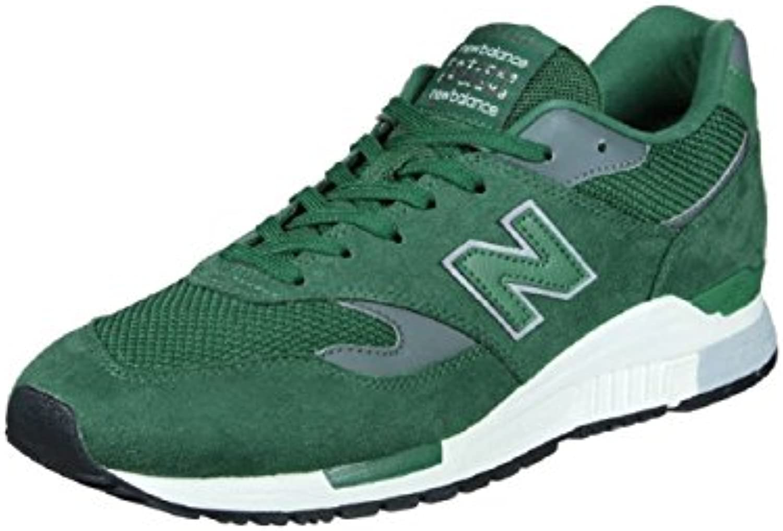 New Balance 840 Microfibre Mesh PU Sneaker Trainer