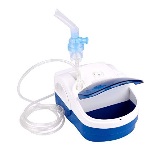 WPT Inhalator Vernebler Kinder Elektrisch JH108 Inhaliergeräte für Erwachsene und Baby Ultraschall mit Umfangreiches Zubehör, Zertifiziertes Medizinprodukt inhalationsgerät