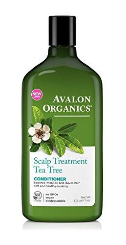 Avalon Organics - Scalp Treatment Conditioner - Tea Tree - 312ml (Pack of 5) -